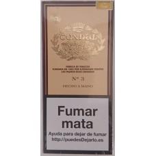Condal No. 3 Estuche Puros 4 kanarische Zigarren in Pappschachtel von Gran Canaria