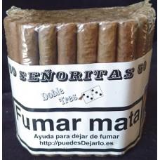 Doble Tres Senoritas 50 Puros Zigarren 50 Stück produziert auf Gran Canaria