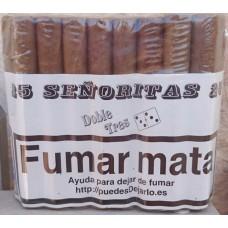 Doble Tres - Senoritas 25 Puros Zigarren 25 Stück produziert auf Gran Canaria
