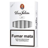 Don Julian No 1 kanarische Zigarren 5 Stück produziert auf Gran Canaria