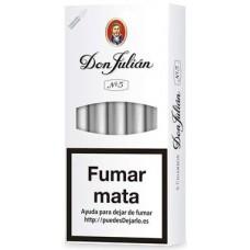 Don Julian No 5 kanarische Zigarillos 5 Stück produziert auf Gran Canaria