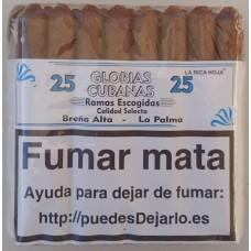 Glorias Cubanas - Ramas Escogidas Calidad Selecta 25 Zigarren produziert auf La Palma