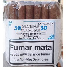 Glorias Cubanas - Ramas Escogidas Calidad Selecta 50 Zigarren Zigarren produziert auf La Palma