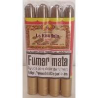 La Rica Hoja - Puro Tubo Zigarren 4 Stück jeweils in Plastikröhrchen produziert auf La Palma