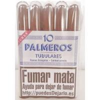 Palmeros 10 Tubulares Ramas Escogidas 10 Zigarren einzeln in Plastikröhrchen produziert auf Gran Canaria