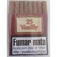 Vega Palmer - Vanilly 25 Zigarillos Vanille-Aroma produziert auf Gran Canaria