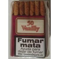 Cial Tabaguiver - Vanilly 50 Zigarillos Vanille-Aroma produziert auf Teneriffa