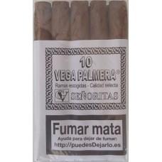 Vega Palmera - Palmeros 10 Senoritas Zigarillos produziert auf Teneriffa
