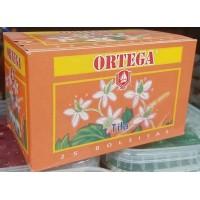Cafe Ortega - Te Tila Lindenblütentee 25 Teebeutel je 1,1g 27g produziert auf Gran Canaria
