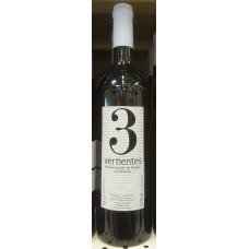 3 Vertientes - Vino Blanco Weißwein halbtrocken 13,5% Vol. 750ml produziert auf La Gomera