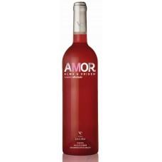 AMOR - Vino Rosado Afrutado fruchtiger Rosè-Wein 12% Vol. 750ml produziert auf Teneriffa