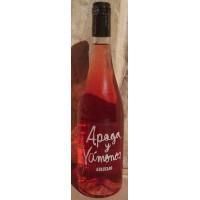 Apaga y Vamonos - Vino Rosado Afrutado Rosé-Wein fruchtig 10,5% Vol. 750ml produziert auf Teneriffa