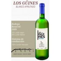 Los Güines - Vino Blanco Afrutado Weißwein fruchtig 10,5% Vol. 750ml produziert auf Teneriffa