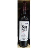 Los Güines - Vino Tinto Rotwein trocken 12,5% Vol. 750ml produziert auf Teneriffa
