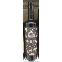 Panzaburro - Vino Tinto Joven Listan Negro Rotwein trocken 13,5% Vol. 750ml Flasche produziert auf Teneriffa
