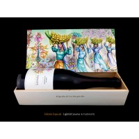 Tajinaste LightfulCanarias Edicion Especial Jardin de Las Hesperides Vino Tinto Rotwein 750ml produziert auf Teneriffa
