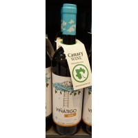 Vinatigo - Gual Vino Blanco Weißwein trocken 750ml produziert auf Teneriffa