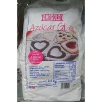 Amagoldi - Azucar Glass Puderzucker 2,5kg Sack produziert auf Gran Canaria