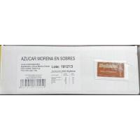 Dulzan - Azucar Morena de Cana Brauner Rohrzucker 833 Portionen je 6g = 5kg Karton produziert auf Teneriffa