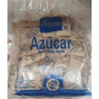 Emicela - Azucar Moreno de Cana Brauner Rohrzucker Gastro-Portionstüten je 10g, 1kg produziert auf Gran Canaria