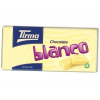 Tirma - Chocolate blanco weiße Schokolade 150g produziert auf Gran Canaria