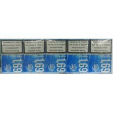 1,69 Premium Blue kanarische Zigaretten - Stange 10 Schachteln je 20 Zigaretten produziert auf Teneriffa