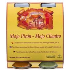 Argodey Fortaleza - Set Mojo Picon & Mojo Cilantro 2x 250ml Flasche produziert auf Teneriffa