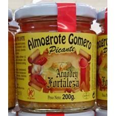 Argodey Fortaleza - Almogrote Gomero Picante - Kanarische Hartkäsepaste würzig 200g produziert auf Teneriffa