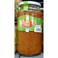 Argodey Fortaleza - Bienmesabe Honig-Mandel-Creme 1kg Glas produziert auf Teneriffa