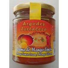 Argodey Fortaleza - Confitura Crema de Mango-Limon Konfitüre 200g produziert auf Teneriffa