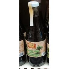 Argodey Fortaleza - Savia de Palma Canaria Miel Palmensirup eingekocht Flasche 790g/500ml produziert auf Teneriffa