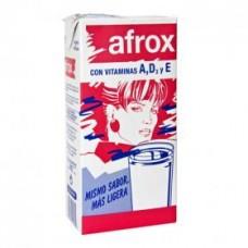 Afrox - Leche Milch entera con Vitamins A,D,E 1l Tetrapack produziert auf Teneriffa