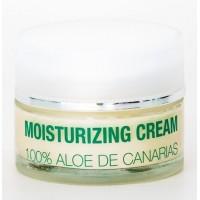 Alma de Canarias - Aloe Vera Moisturizing Cream Noche Gesichtscreme Nacht 50ml Glas produziert auf Lanzarote