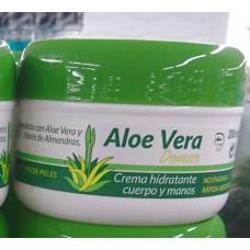 Aloe Vera Domar - Crema hydratante cuerpo y manos Feuchtigkeitscreme 200ml Dose produziert auf Teneriffa