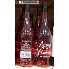 Apaga y Vamonos - Vino Rosado Afrutado Rosé-Wein fruchtig 11,5% Vol. 750ml produziert auf Teneriffa