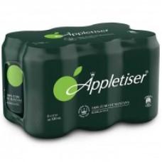 Appletiser - Apfelschorle Apfelsaft mit Kohlensäure 330ml Dose im 24er-Pack produziert auf Teneriffa