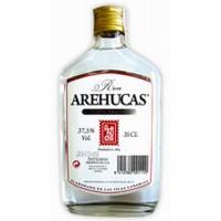 Arehucas - Ron Blanco weißer Rum 37,5% Vol. 350ml Flachmann Glasflasche produziert auf Gran Canaria