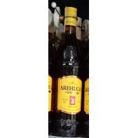 Arehucas - Ron Carta Oro brauner Rum 1l 37,5% Vol. produziert auf Gran Canaria