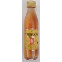 Arehucas - Ron Carta Oro 37,5% Vol. 50ml PET-Miniaturflasche produziert auf Gran Canaria