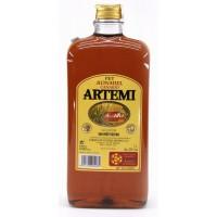 Artemi - Ronmiel Canario Ron Miel Honigrum 20% Vol. 1l flache Flasche PET produziert auf Gran Canaria