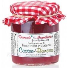 Bernardo's Mermeladas - Cactus-Banana Kaktus-Bananen-Konfitüre extra 250g produziert auf Lanzarote