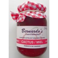 Bernardo's Mermeladas - Cactus-Miel Kaktuskonfitüre extra mit Honig 250g produziert auf Lanzarote