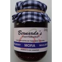 Bernardo's Mermeladas - Mora Maulbeerkonfitüre extra 240g produziert auf Lanzarote