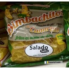 Bimbachitos de Canarias - Salado Salty Bananenchips leicht gesalzen 90g produziert auf El Hierro