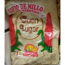 Buen Lugar - Gofio de Millo Argentino Maismehl geröstet 1kg produziert auf Gran Canaria