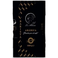 Cafe la Aldeana - Barista Cafe en Grano Arabica Natural Bohnenkaffee geröstet 1kg Tüte produziert auf Gran Canaria