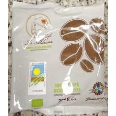 Cafe la Aldeana - Cafe Ecologico Tueste Natural Molido Bio-Kaffee gemahlen 200g Tüte produziert auf Gran Canaria