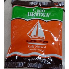 Cafe Ortega - Cafe Molido de Tueste Natural gemahlener Kaffee Tüte 155g produziert auf Gran Canaria