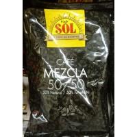 Café Sol - Mezcla molido 50% Natural / 50% Torrefacto Röstkaffee gemahlen gemischt 250g Tüte produziert auf Gran Canaria
