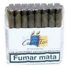 Canaritos - Senoritas Puros 25 Stück Zigarren produziert auf Teneriffa